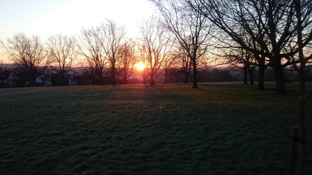 Sunrise Hillyfields